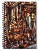 Carpenter - That's A Lot Of Tools  Spiral Notebook