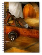 Carpenter - The Humble Shop Plane Spiral Notebook