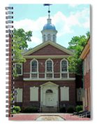 Carpenters Hall In Philadephia Spiral Notebook