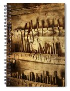 Carpenter's Workroom Spiral Notebook
