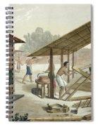 Carpentry Workshop In Kupang, Timor Spiral Notebook