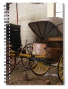 Carriage - Chateau Usse Spiral Notebook