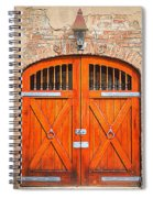 Carriage House Doors Spiral Notebook