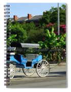 Carriage Tours New Orleans Spiral Notebook