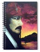Carribean Night Spiral Notebook