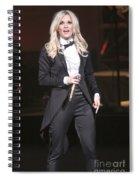 Singer Carrie Underwood Spiral Notebook