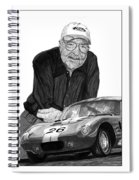 Carroll Shelby    Rest In Peace Spiral Notebook