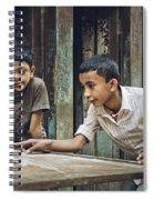 Carrom Boys Spiral Notebook
