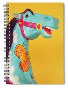 Carrosel Horse Spiral Notebook
