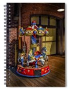 Carrousel Spiral Notebook