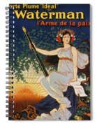 Carry The Ideal Waterman Pen - Spiral Notebook