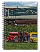Cars And Trains Spiral Notebook