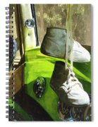 Cars - Baby Shoes Spiral Notebook