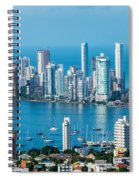 Cartagena Skyscapers Spiral Notebook
