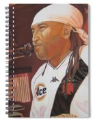 Carter Beauford At Red Rocks Spiral Notebook