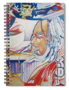 Carter Beauford Colorful Full Band Series Spiral Notebook