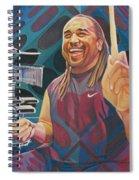 Carter Beauford Pop-op Series Spiral Notebook