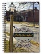 Carter Run Inn 1 Spiral Notebook