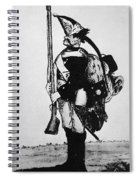 Cartoon: Hessian Soldier Spiral Notebook