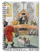Cartoon: Surgeons, 1811 Spiral Notebook