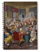 Cartoon: The Smoking Club Spiral Notebook