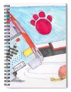 Cartoon Truck Lorry Spiral Notebook