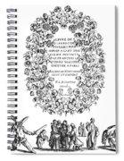Cartouche, 1635 Spiral Notebook