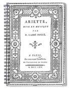 Cartouche, 1765 Spiral Notebook