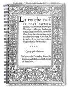 Cartouches, 1537 Spiral Notebook