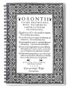 Cartouches, 1544 Spiral Notebook