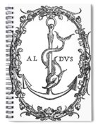 Cartouches, 1545 Spiral Notebook