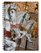Caruosel Horses Spiral Notebook