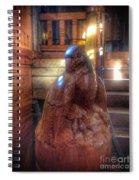 Carved Bird  Spiral Notebook