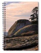 Carved Granite Spiral Notebook