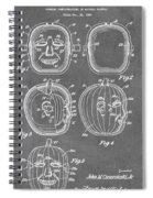 Carved Pumpkin Patent Spiral Notebook