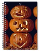 Carved Pumpkins  Spiral Notebook