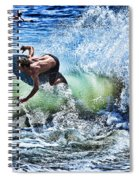 Carving Spiral Notebook