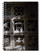Carvings Of Jainism Spiral Notebook