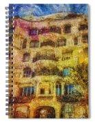 Casa Mila Spiral Notebook