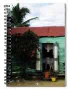 Casa Numero Seis Spiral Notebook