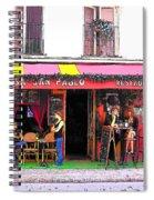Casa San Pablo Restaurant Spiral Notebook