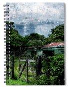 Casa Verde  Spiral Notebook