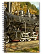 Cascade Mountain Train Spiral Notebook