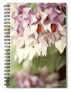 Cascade Of Flower Spiral Notebook