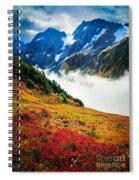 Cascade Pass Peaks Spiral Notebook