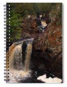 Cascade River Spiral Notebook