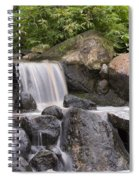 Cascade Waterfall Spiral Notebook
