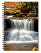 Cascades At Ricketts Glen Spiral Notebook