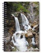 Cascades In Bavaria Spiral Notebook