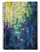Cascading Colors Spiral Notebook